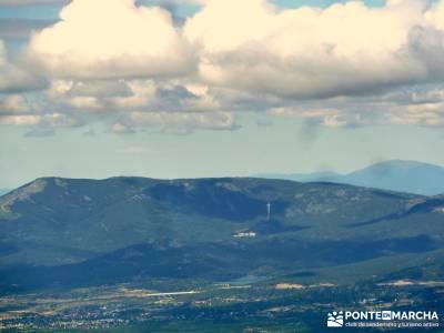 Cuerda Larga - Miraflores de la Sierra; trekking y senderismo rutas de senderismo por la sierra de m
